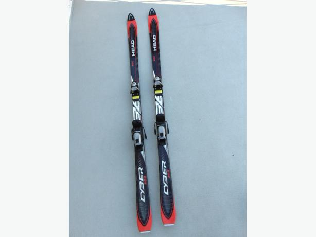 Ski 180 Head Cyber 20X With Bindings Black Red
