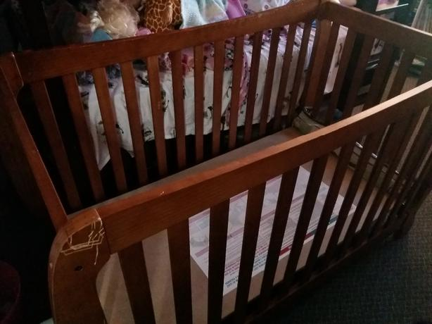 FREE: Solid Wood Crib .