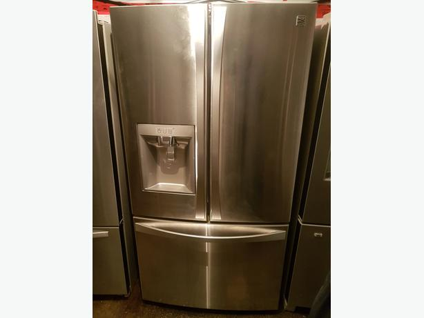 BRAND NEW 36' KENMORE ELITE FRENCH DOOR FRIDGE