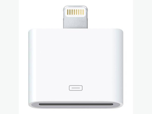 Apple OEM Lightning to 30-pin Adapter for iPhone, iPod & Apple Devices MD823AM/A