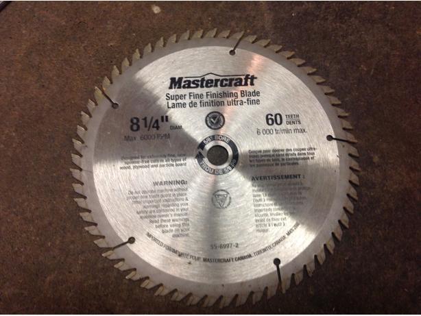 60 tooth carbide saw blade