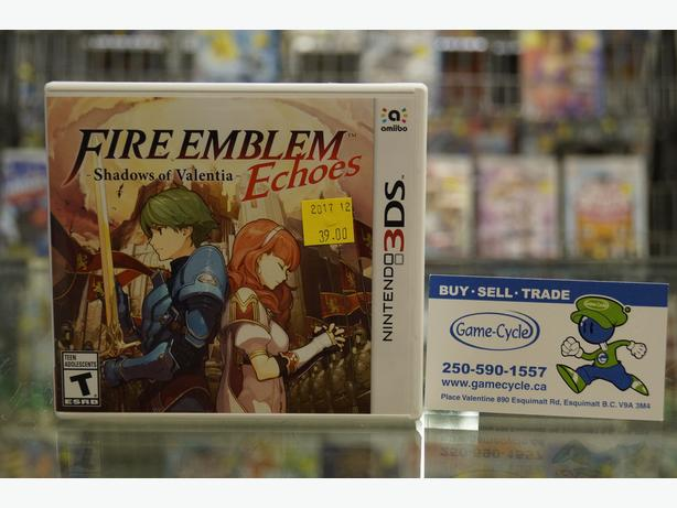 Fire Emblem Echoes Shadows of Valentia for 3DS Available @ Game Cycle