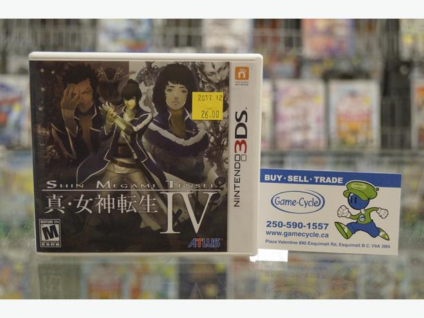 Shin Megami Tensei IV for 3DS Available @ Game Cycle
