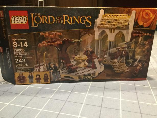Lego Lord of the Rings Council of Elrond 79006