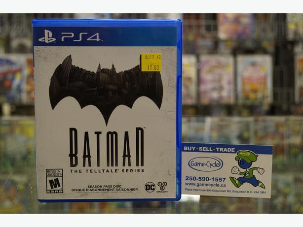 Batman the Telltale Series for PS4 Available @ Game Cycle