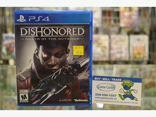 Dishonored Death of the Outsider for PS4 Available @ Game Cycle