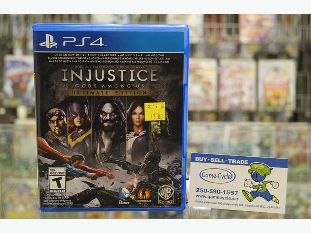 Injustice Gods Among Us Ultimate Edition for PS4 Available @ Game Cycle