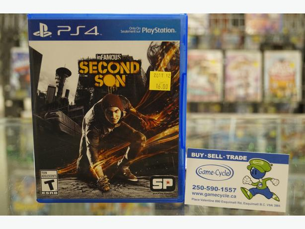 Infamous Second Son for PS4 Available @ Game Cycle