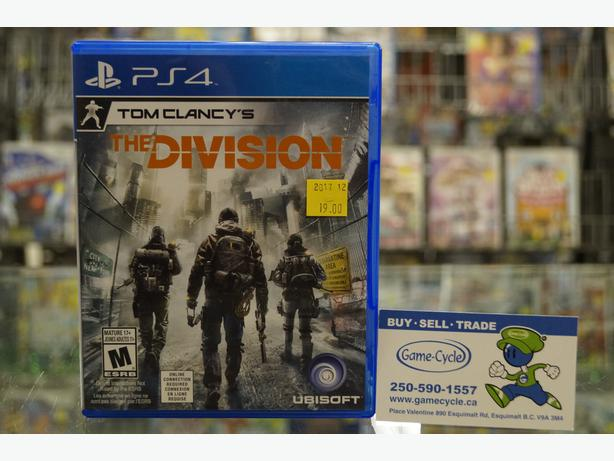 Tom Clancy's The Division for PS4 Available @ Game Cycle