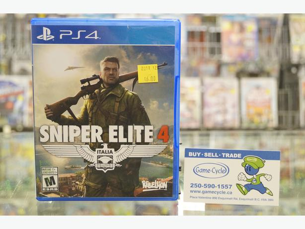 Sniper Elite 4 for PS4 Available @ Game Cycle