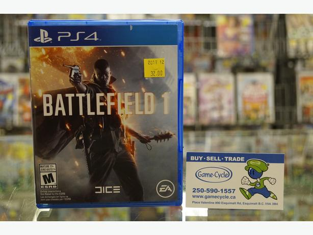 Battlefield 1 for PS4 Available @ Game Cycle