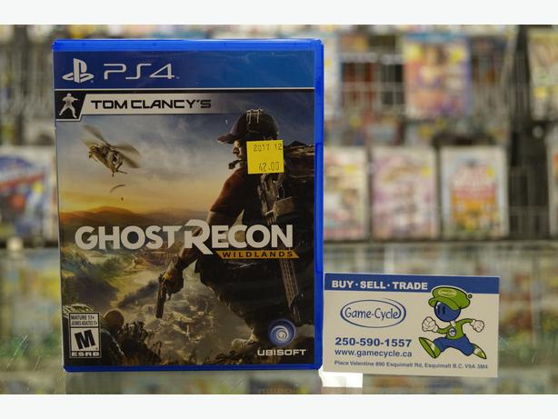 Tom Clancy's Ghost Recon Wildlands for PS4 Available @ Game Cycle