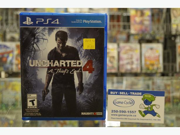 Uncharted 4 for PS4 Available @ Game Cycle