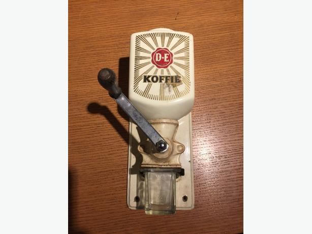 vintage wall mounted coffee grinder