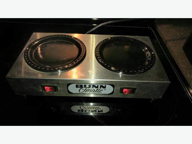 Duel BUNN Coffee Carafe Warmer Plate