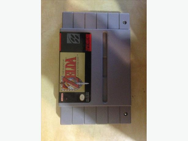 SNES LEGEND OF ZELDA: A LINK TO THE PAST SUPER NINTENDO