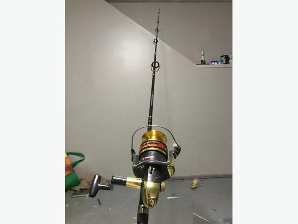 not used fishing rod