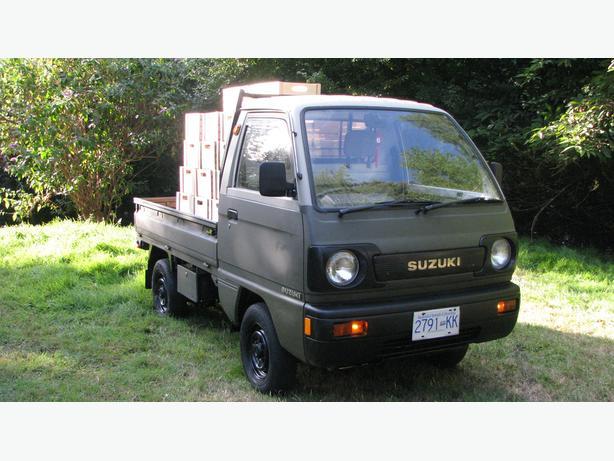 4x4 Suzuki Carry Mini-Truck Must sell asap Moving East