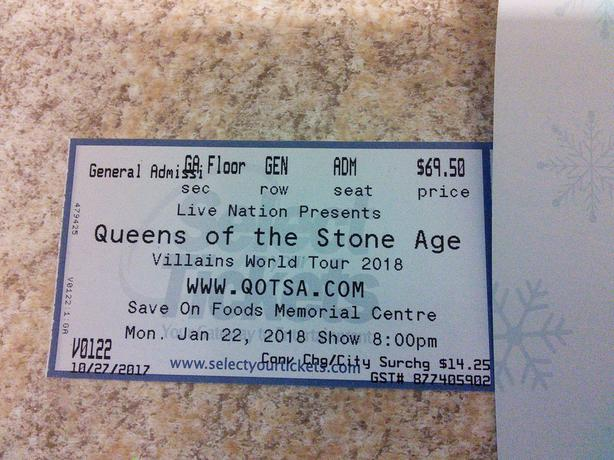 Queens Of The Stone Age with Eagles of Death Metal - 2 Floor Tix!!