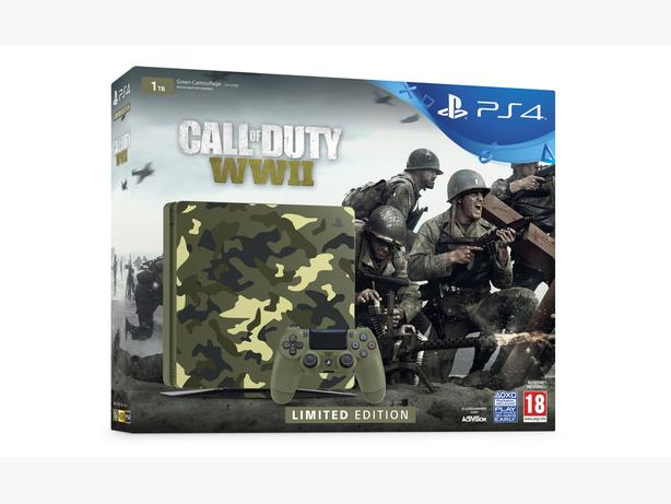 limited edition world war 2 ps4 with extras