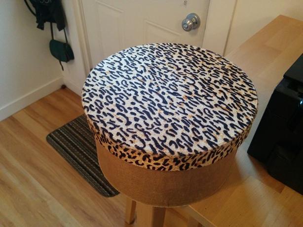 FREE: Leopard-print box