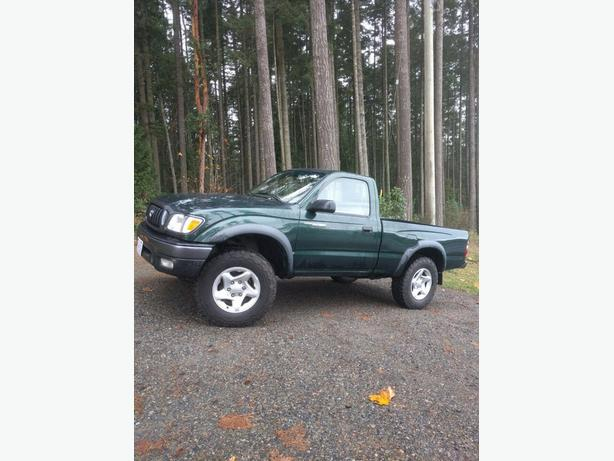 2001 Toyota Tacoma 4x4  2.7 L 5 spd Regular Cab