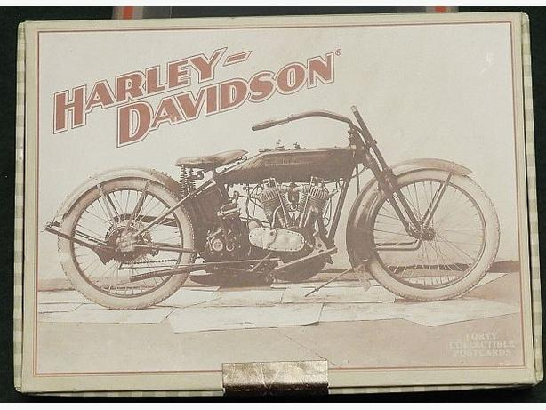 Set of Harley-Davidson Collectible Postcards