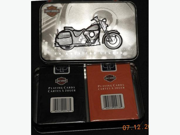 """An American Legend"" Harley-Davidson Playing Cards"