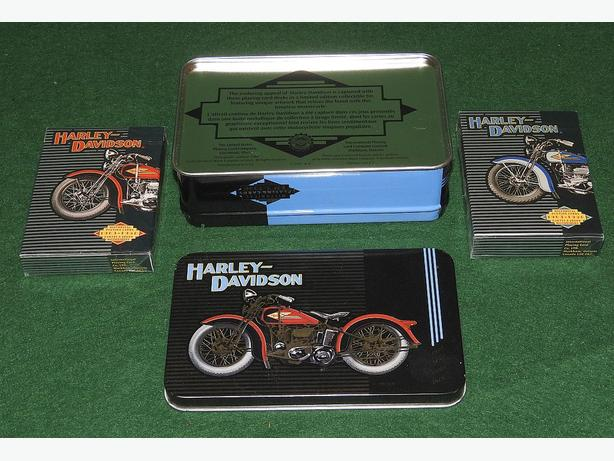 Two Decks of Collectible Harley-Davidson Playing Cards.