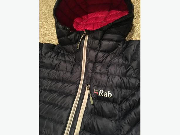 Women's Rab Microlight Down Jacket  size Small  (org. price: $379)