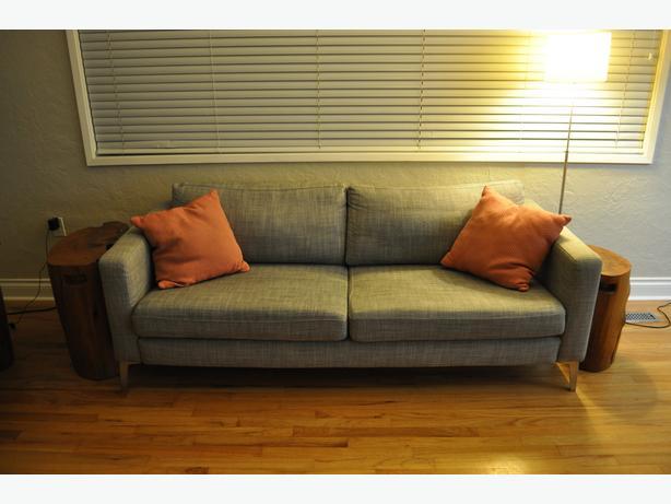 IKEA Karlstad couch - grey