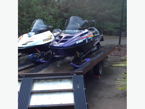96 Polaris 600 twin