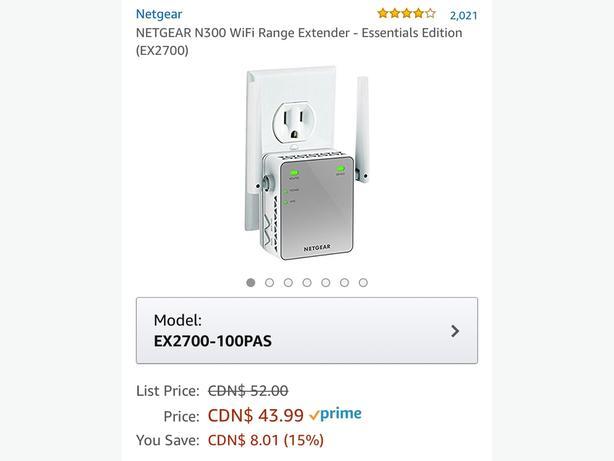 Brand new WiFi Range Extender