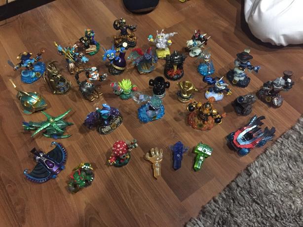 various skylanders