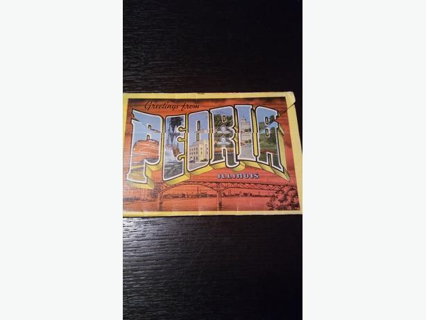 Authentic Vintage Peoria, Illinois Postcard Set