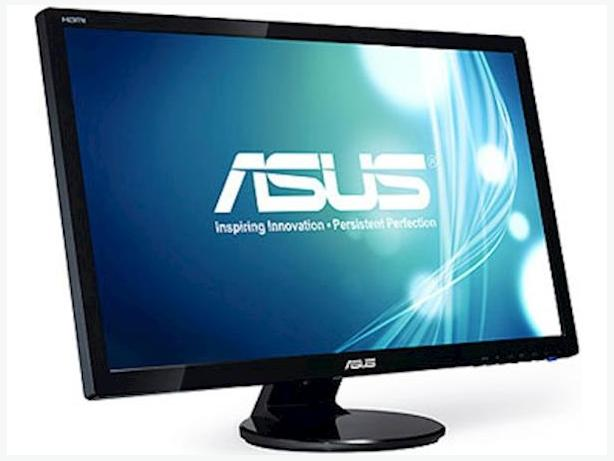 ASUS 27 inch Full HD LED Backlight LCD Monitor w/ Speakers
