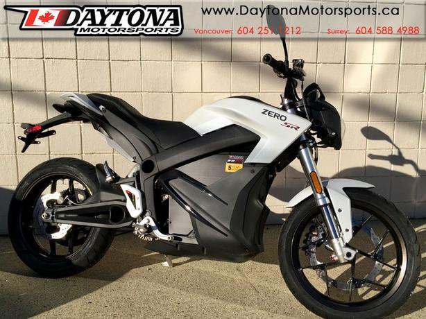 2018 Zero SR ZF14.4  Electric Sport Motorcycle
