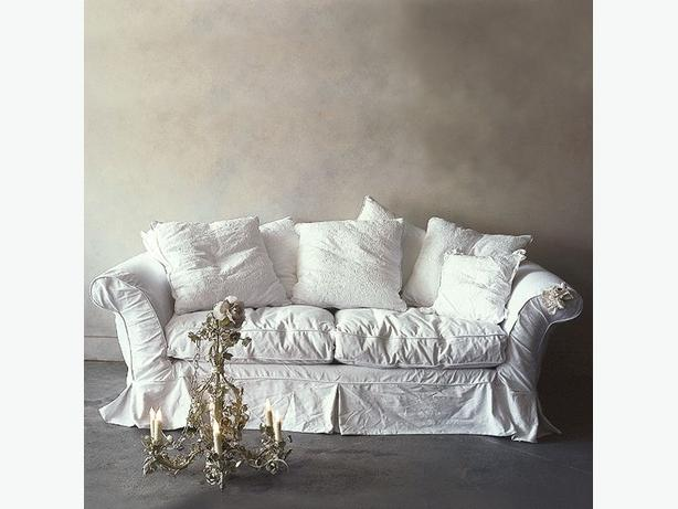 Shabby Chic your furniture with cotton slip covers