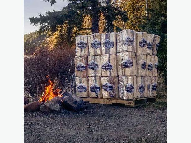 Kiln Dried Firewood -bundled stacked and delivered to your home