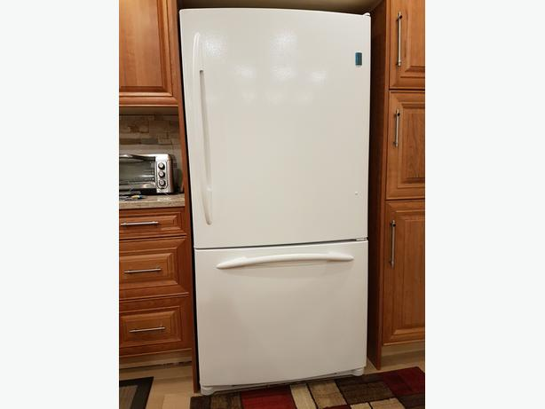 GE Profile Bottom Freezer Refrigerator Has everything you want.