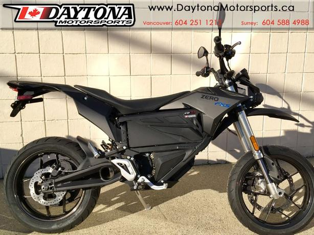2018 Zero FXS ZF7.2  Electric Super Moto Motorcycle
