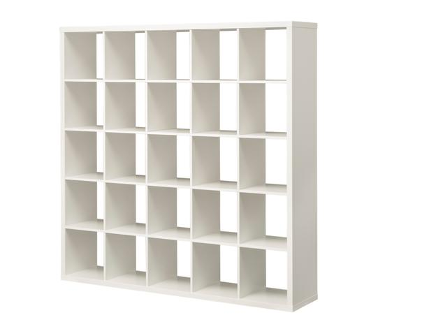 White book shelf / room divider