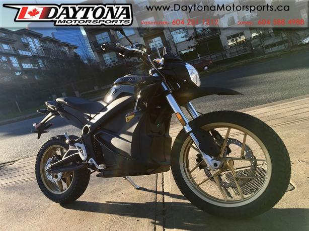 2018 Zero DSR ZF14.4 Electric Dual Sport Motorcycle