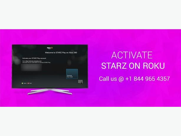 Do you want to activate the Starz on your Roku?