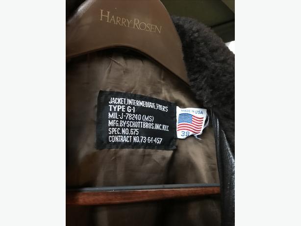 US Navy G1 Jacket