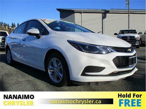 2017 Chevrolet Cruze LT No Accidents Power Sunroof