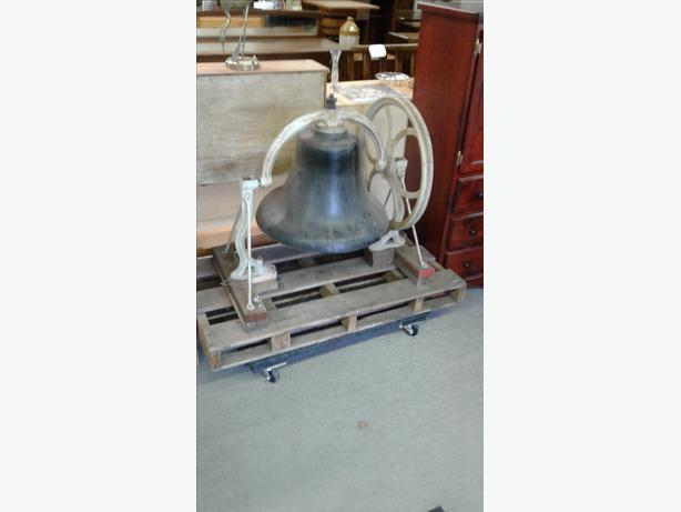 AMAZING 1885 CHURCH BELL FROM CHINESE UNITED CHURCH IN VICTORIA
