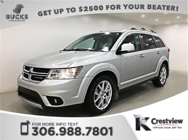 2013 Dodge Journey R/T AWD V6 | Sunroof | Navigation | DVD