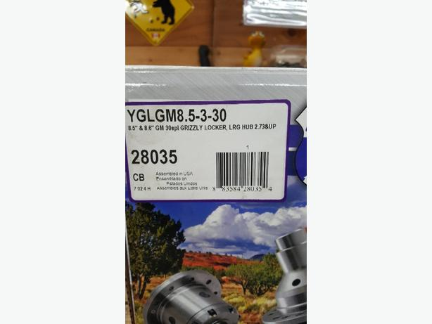 Yukon grizzly locker for Gm