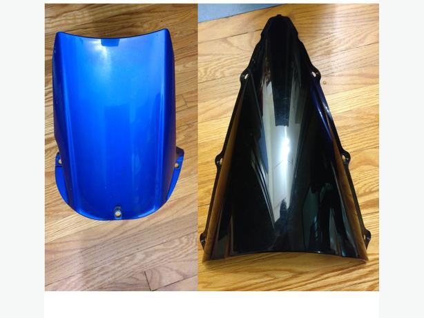 Windscreen & Rear Tail Fairing 2002-2003 Yamaha R1